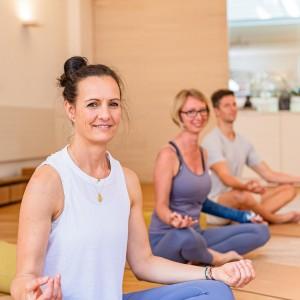 Yoga im September