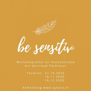 Workshopreihe für Hochsensible