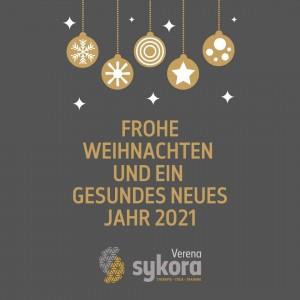 Frohe Weihnachten und ein gesundes Neues Jahr 2021